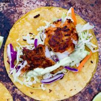 Traeger Grilled Blackened Fish Tacos