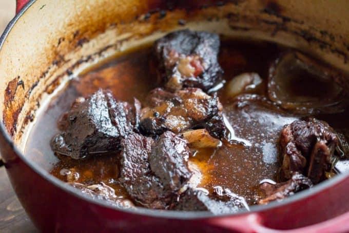 Traeger Braised Beef Short Ribs