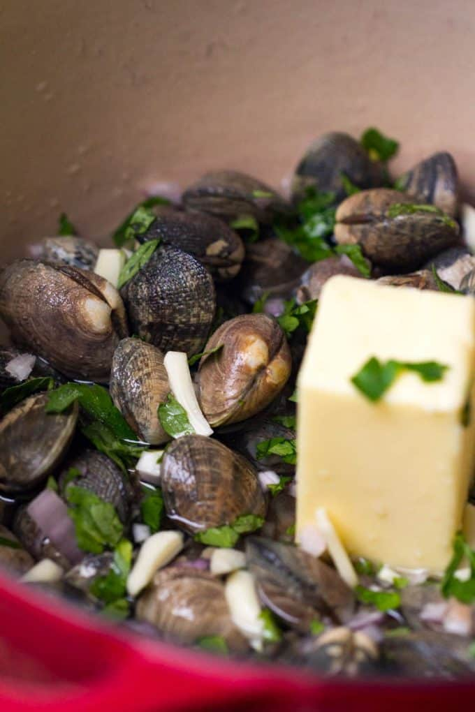 Traeger Grilled Clams