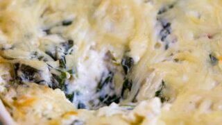 Traeger Wood-Fired Spinach Artichoke Dip