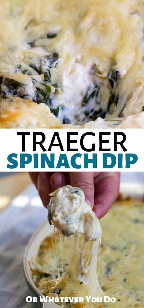 Traeger Spinach Artichoke Dip