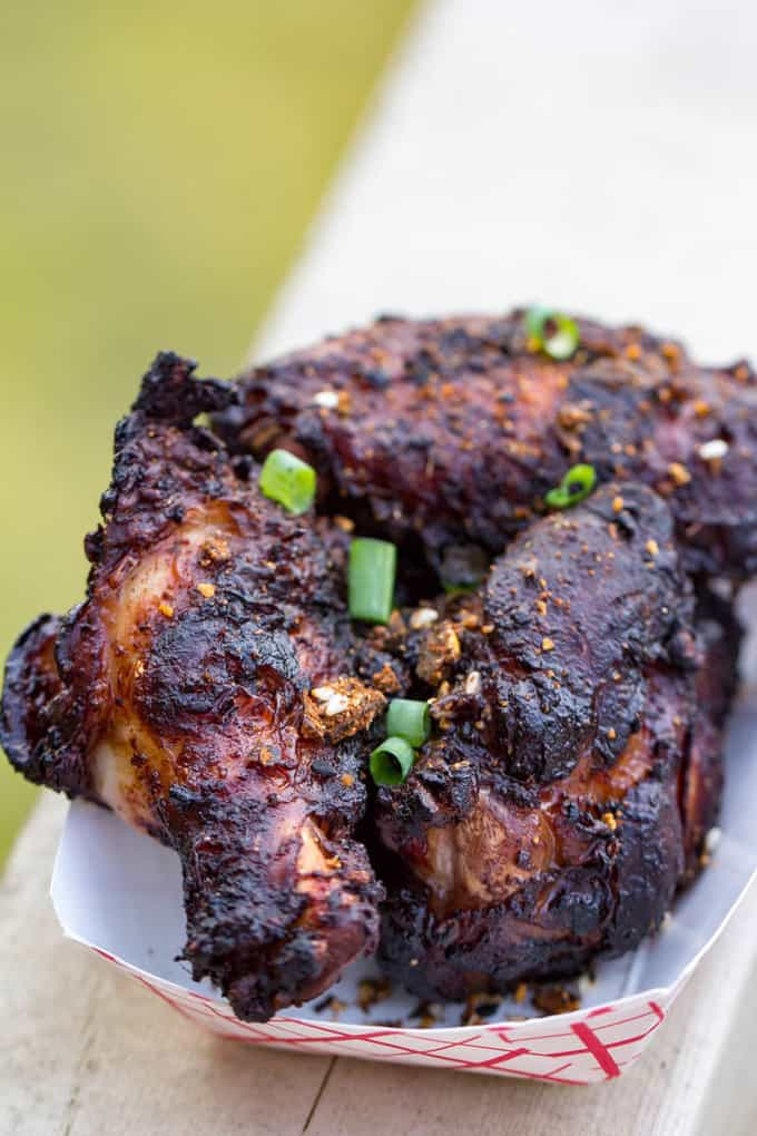 Traeger Asian Spicy Miso Wings