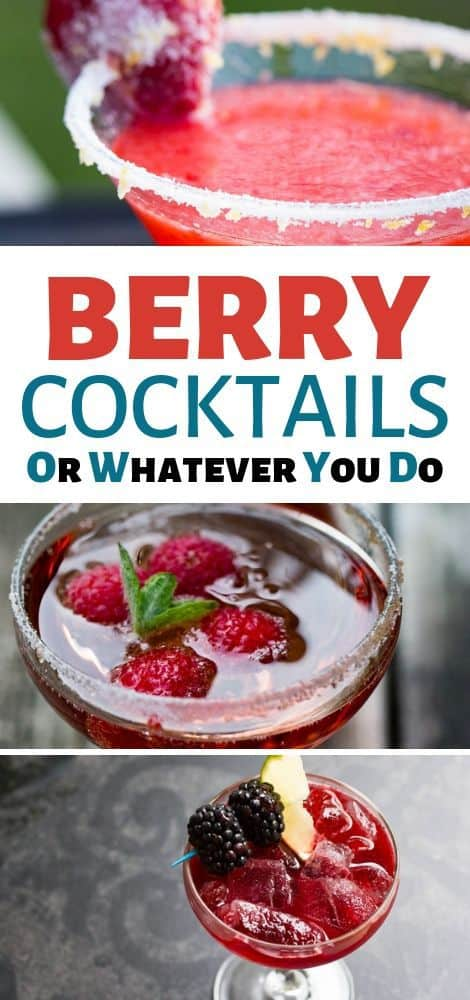 Best Cocktails with Berries