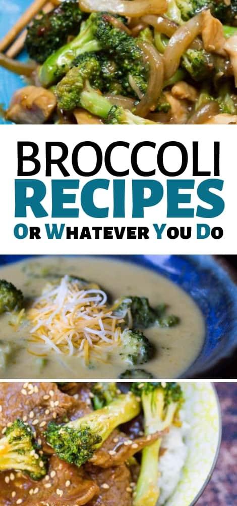 Easy Broccoli Recipes