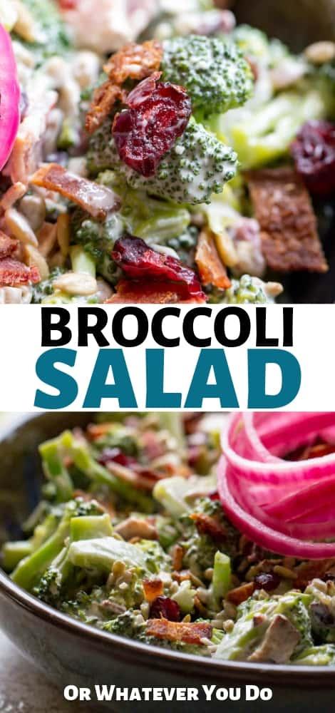 Homemade Broccoli Salad Recipe