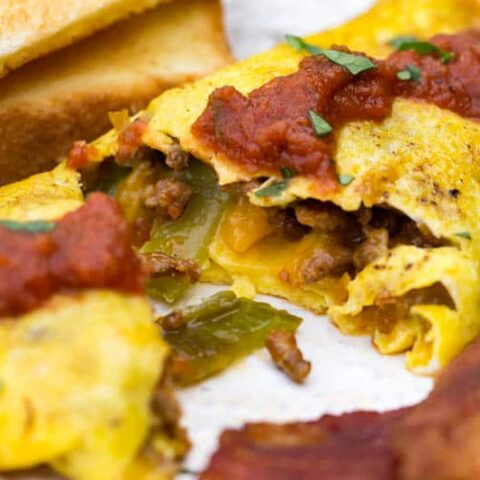 Bacon Cheese Omelet