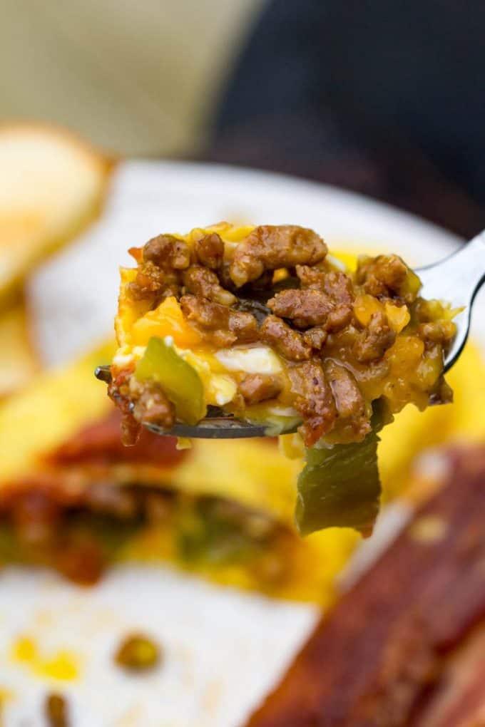 Chorizo Chile Omelet