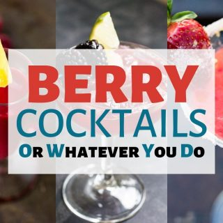 Easy Berry Cocktails