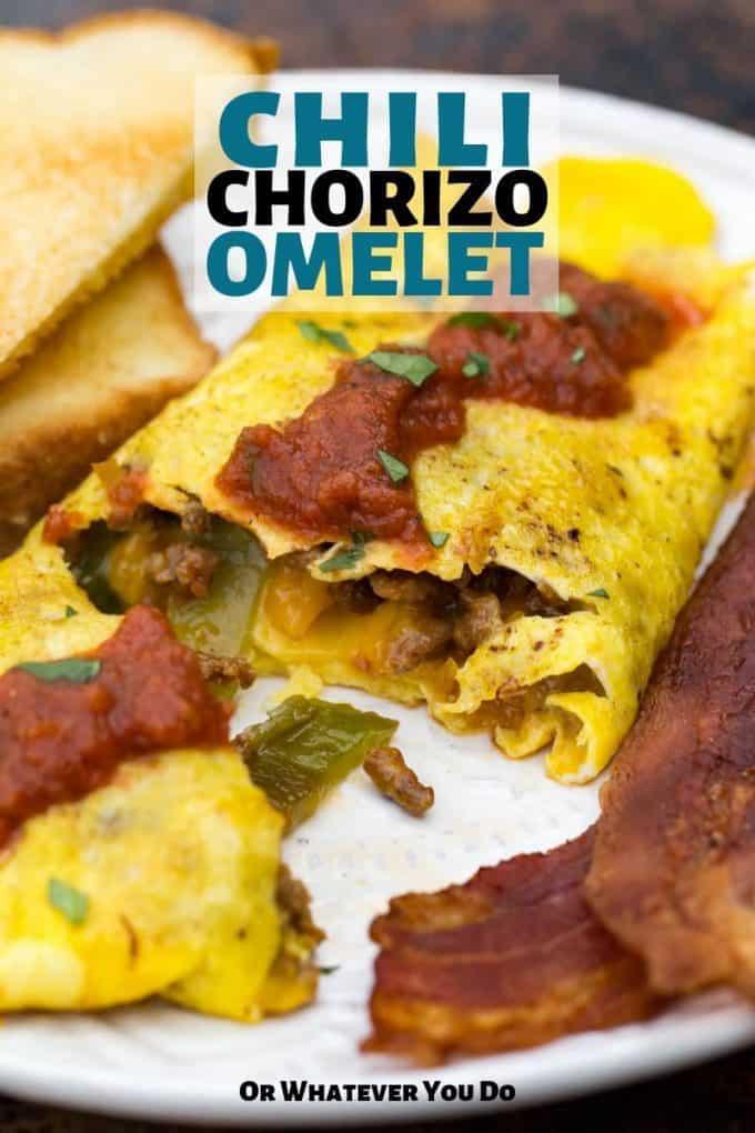 Chorizo Chili Omelet