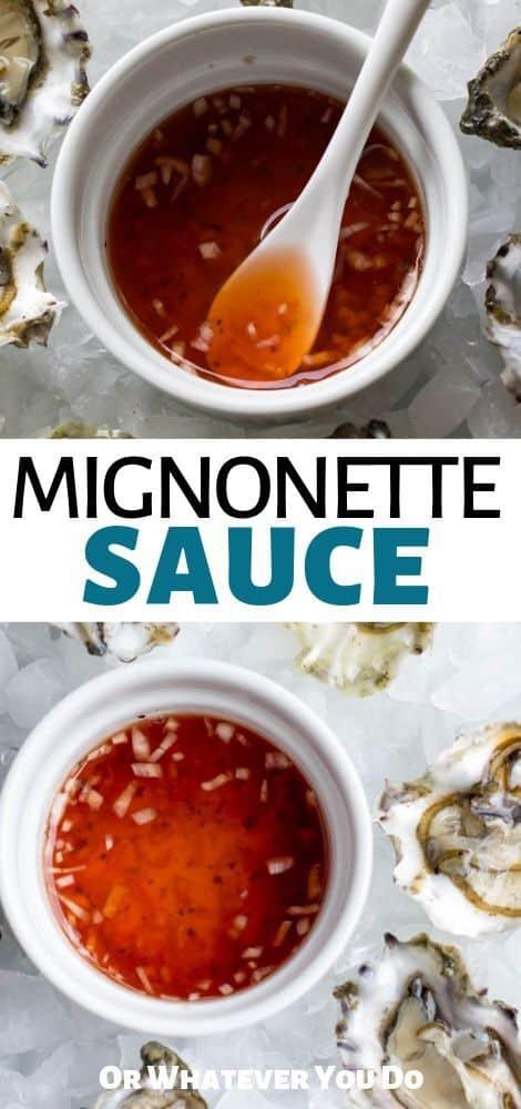 Mignonette Sauce