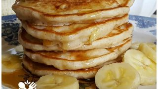 Banana Pancakes from Scratch