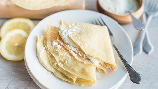 Lemon Ricotta Crepe Recipe