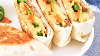 Ranchero Breakfast Crunchwrap | vegan