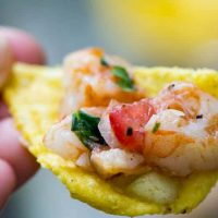 Traeger Grilled Shrimp Ceviche