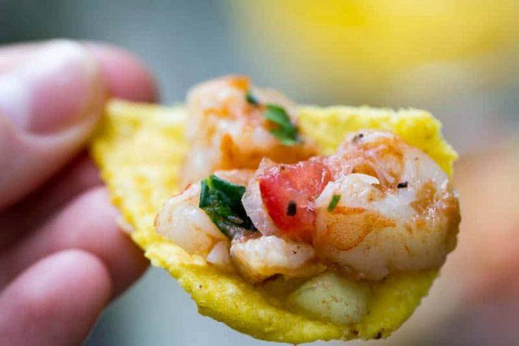 Traeger Grilled Shrimp Ceviche