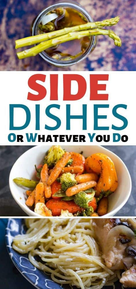 Side Dish Roundup
