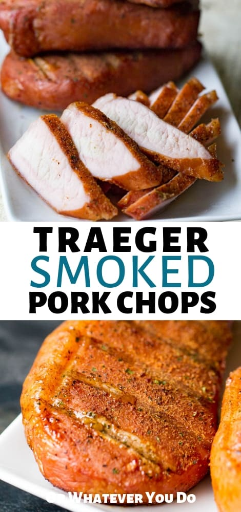 Traeger Smoked Pork Chops
