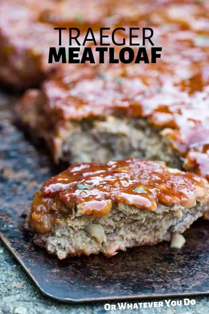 Traeger Smoked Meatloaf Easy Wood Fired Meatloaf Recipe