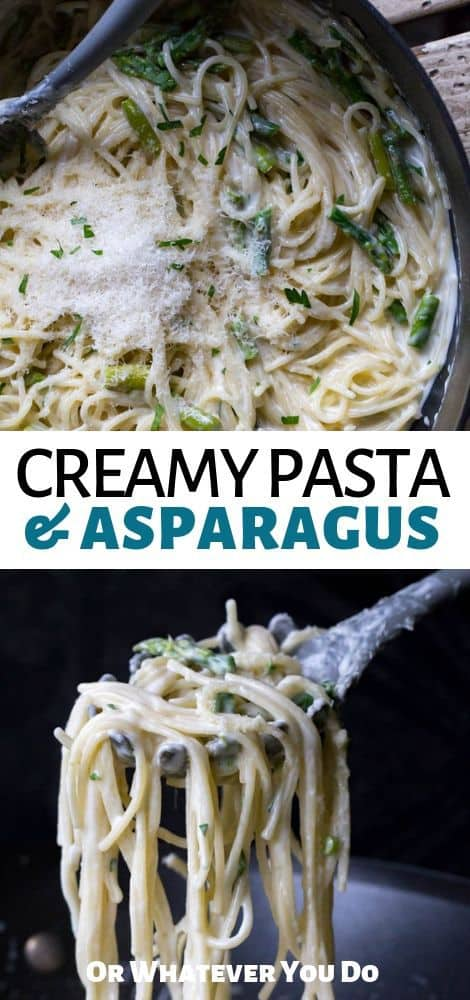 Creamy Pasta and Asparagus