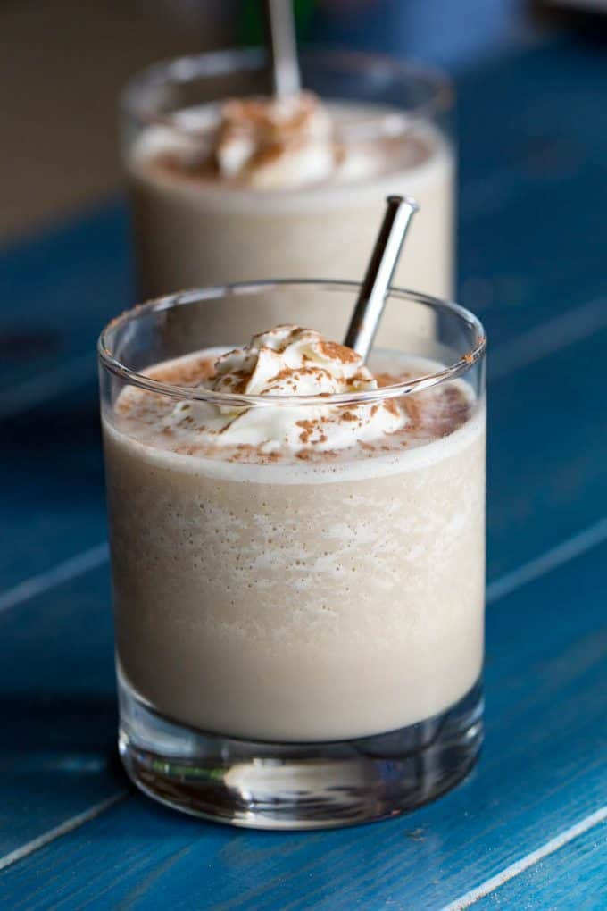 Frozen Mudslide Cocktail