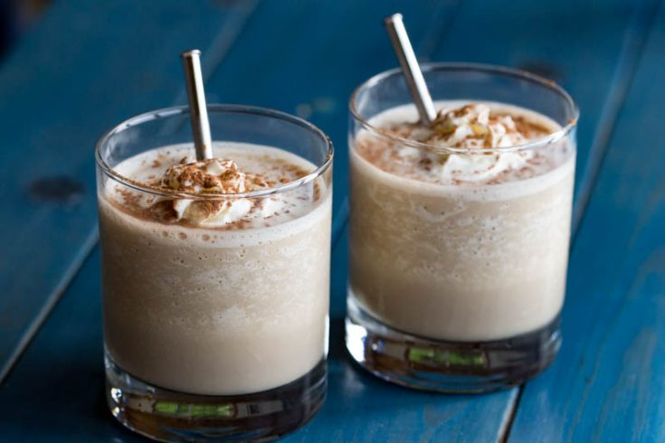 Frozen Mudslide Recipe Easy Boozy Milkshake With Cocoa Powder