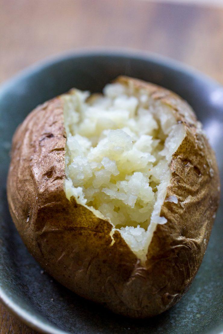 Smoked Baked Potato