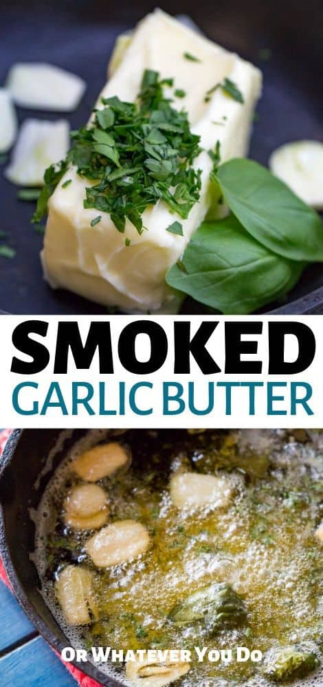 Smoked Garlic Butter