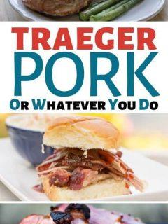 Traeger Pork Recipes