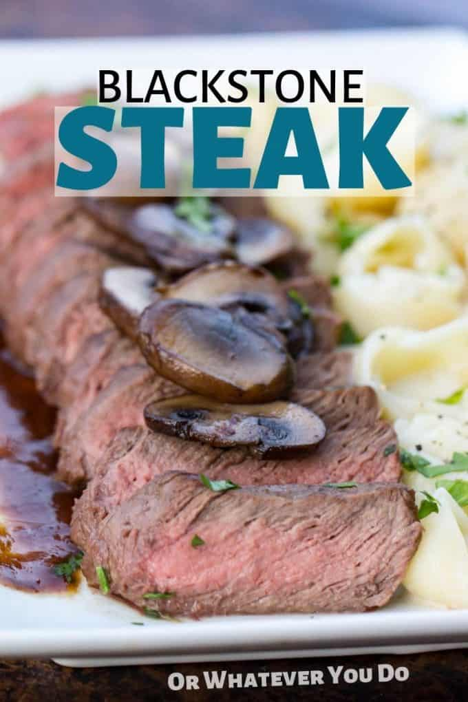 Blackstone Grill Steak Flat Top Blackstone Griddle Steak Recipe