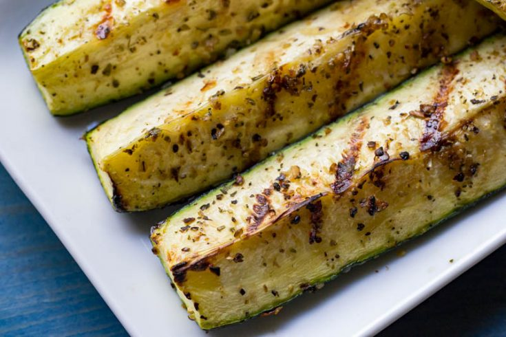 Pellet Grill Zucchini and Yellow Squash
