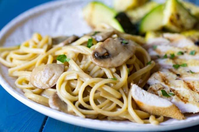 Creamy Mushroom Pasta | One-Pot Pasta Recipe with Mushrooms