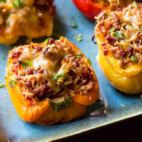 Traeger Stuffed Peppers