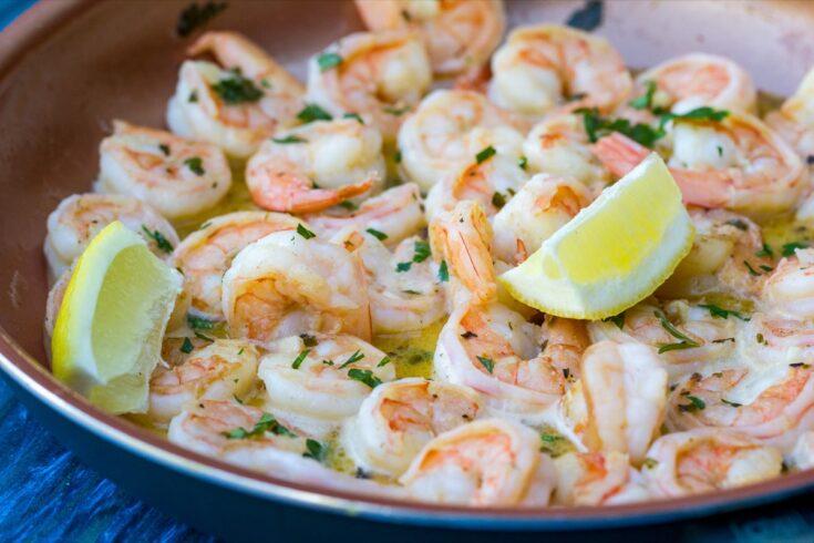 Jumbo Shrimp Scampi