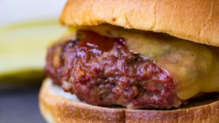 Traeger Mini Meatloaf Sandwiches