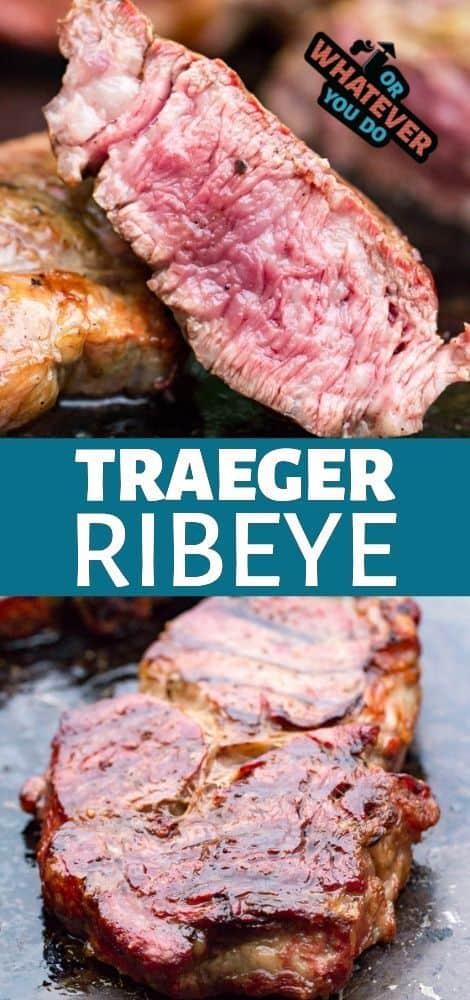 Traeger Ribeye