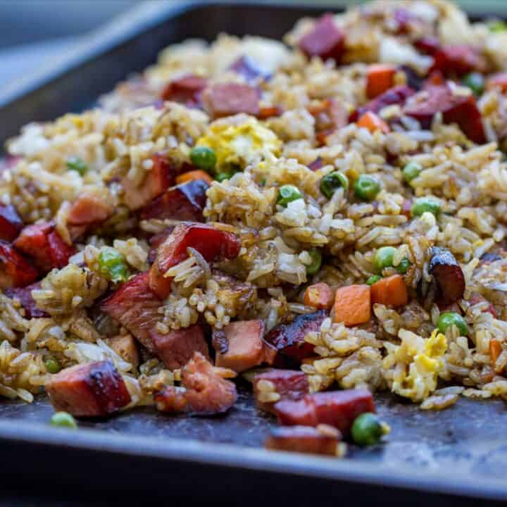 Griddle Pork Fried Rice