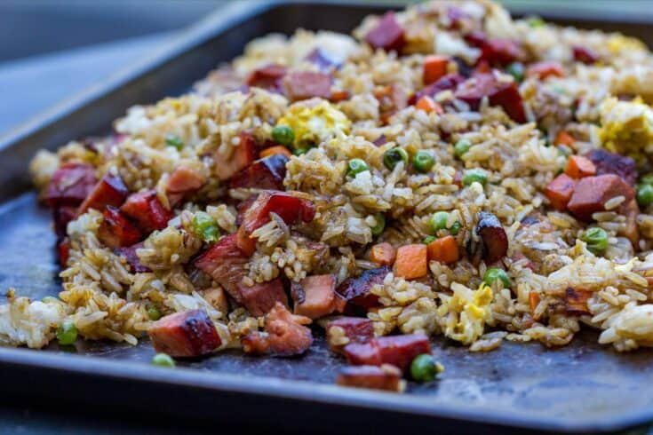 Griddle Pork Fried Rice