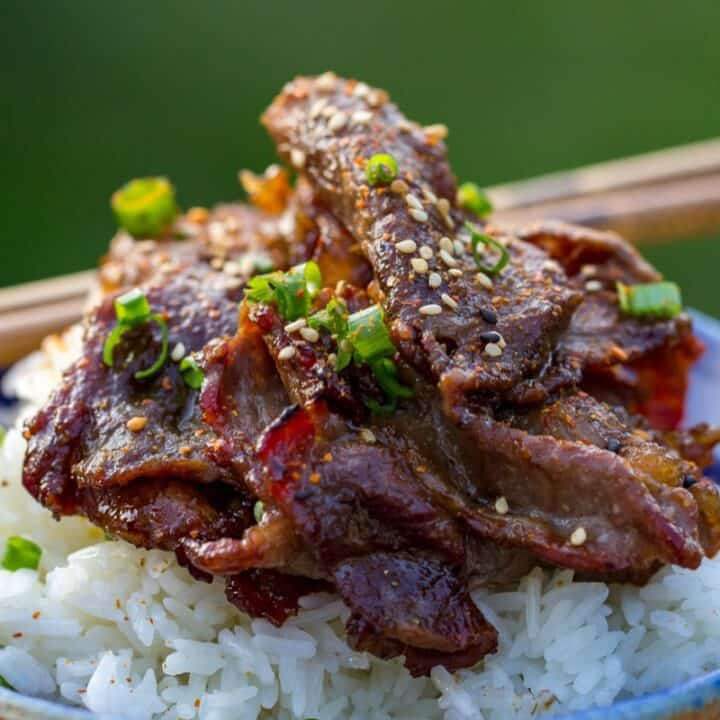 Traeger Beef Bulgogi