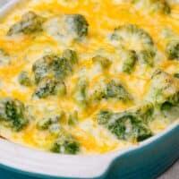 Traeger Cheesy Broccoli Au Gratin