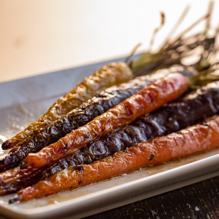 Traeger Grilled Carrots
