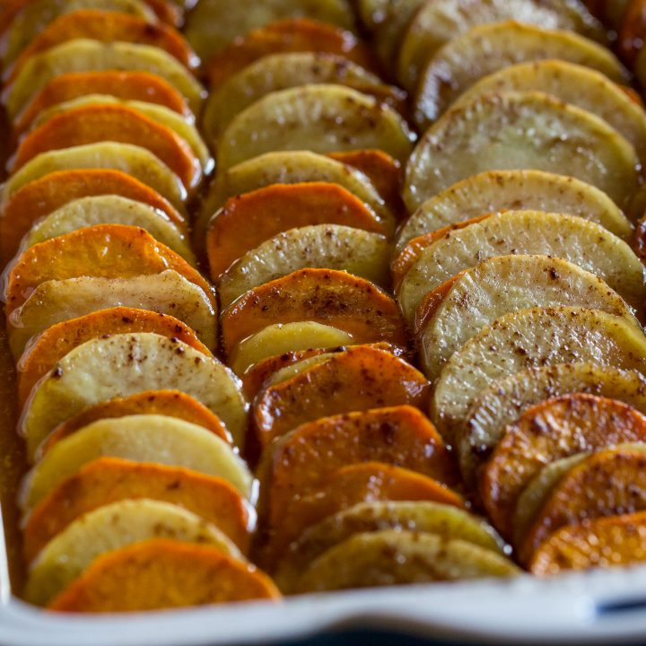 Traeger Grilled Candied Sweet Potatoes