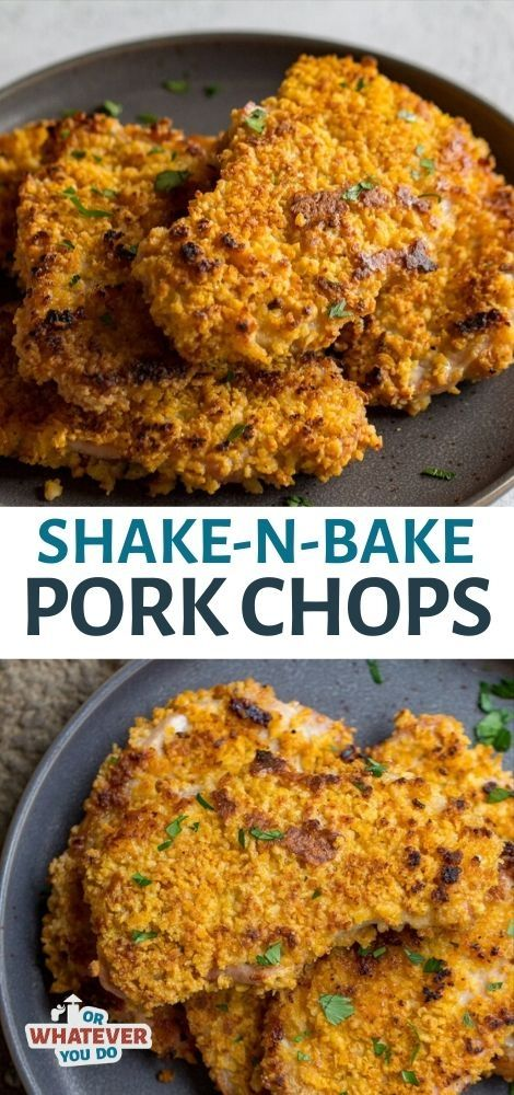 Shake and Bake Pork Chops