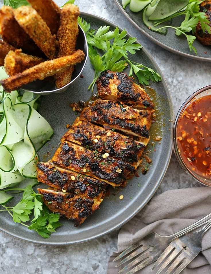Easy Grilled Curry Chicken Recipe