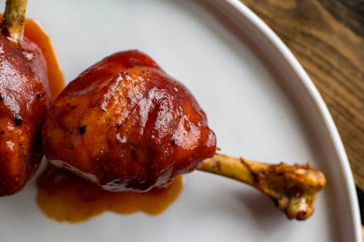 Traeger Smoked Barbecue Chicken Lollipop