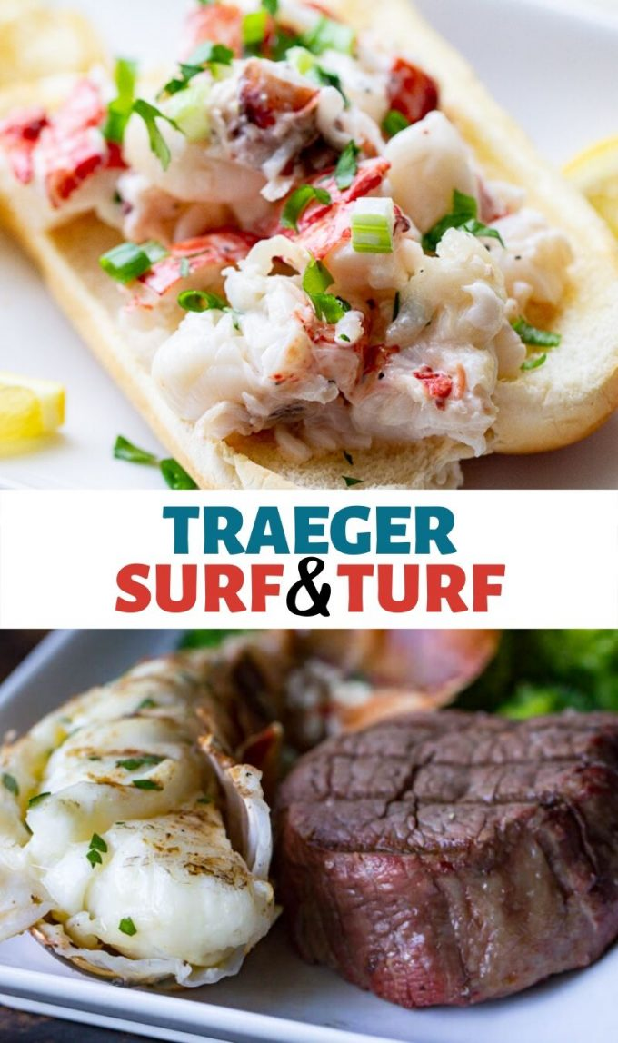 Traeger Surf & Turf