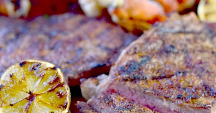 Grilled Mexican Style Surf and Turf