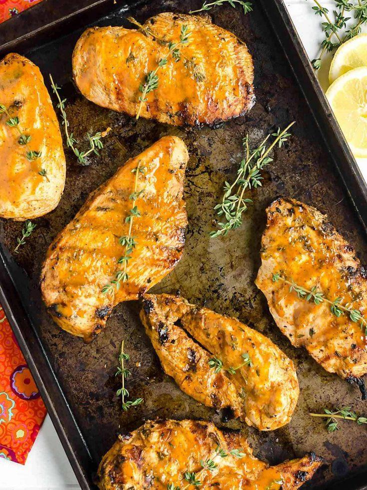 Savory Grilled Chicken