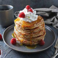 Easy Oatmeal Pancakes (gluten free) Recipe