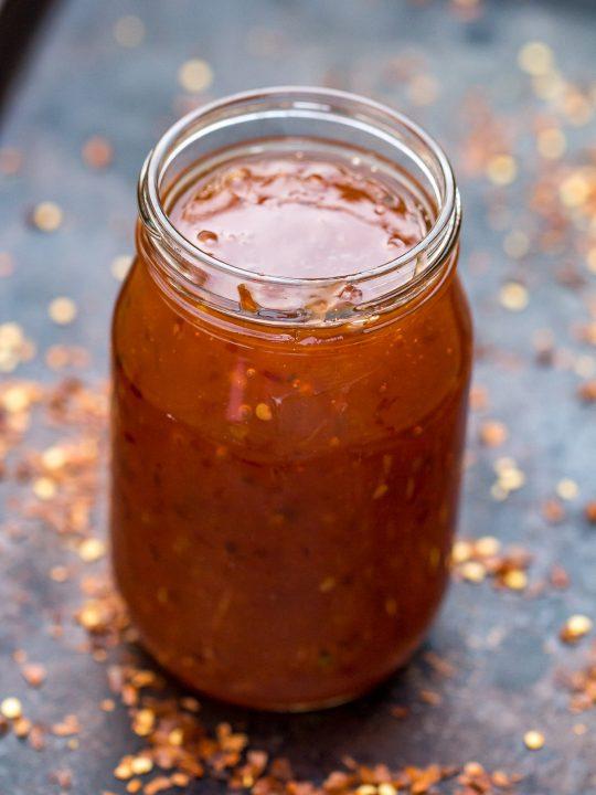 Homemade Sweet Chili Sauce