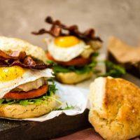 New England Maple Brunch Burger Recipe | GirlCarnivore.com